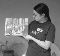 Anna teaching