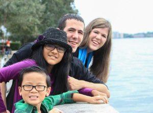 Deborah, Eric, Amanda, and David
